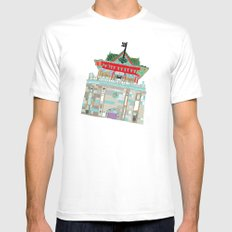 Chukuang house MEDIUM Mens Fitted Tee White