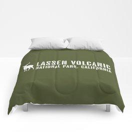 Deer: Lassen Volcanic, California Comforters