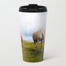 Icelandic Horses II Travel Mug