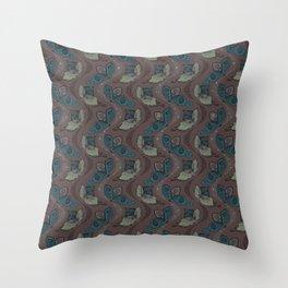 stnflower Throw Pillow