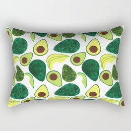 Avocados Rectangular Pillow