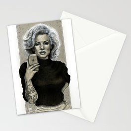 Marilyn Selfie Stationery Cards