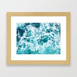 Ocean Splash IV Framed Art Print