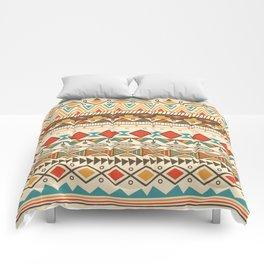 Aztec pattern 03 Comforters