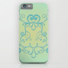 Mint tendrils emblem Slim Case iPhone 6s