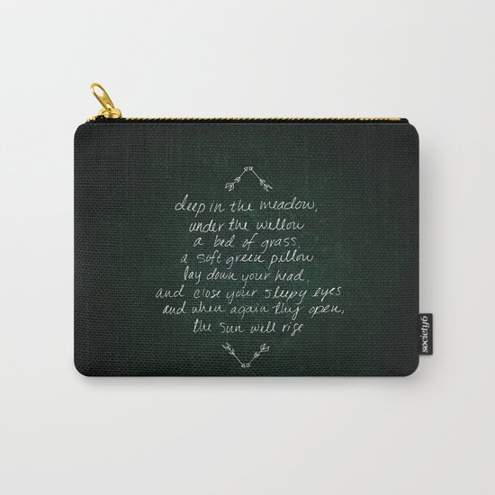 Rue's Song Carry-All Pouch