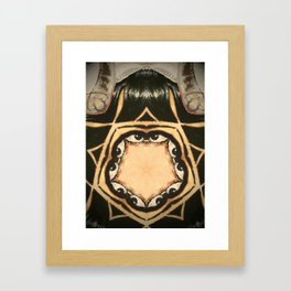 Kaleidoscope P3 Framed Art Print