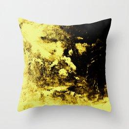 Yellow Shroud Throw Pillow