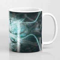 metal Mugs featuring Metal by Danbot