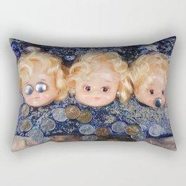 Watchers: No Evil Rectangular Pillow