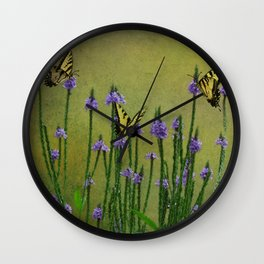 The Colors of Summer Wall Clock