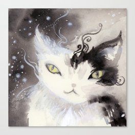 Stardust Pawing the Paradox Canvas Print