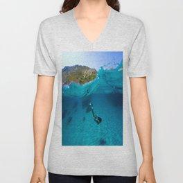 St Tropez Sea One Unisex V-Neck