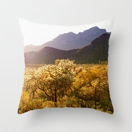 Organ Pipe National Monument #1 Throw Pillow