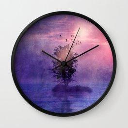 natural feelings (colour option) Wall Clock