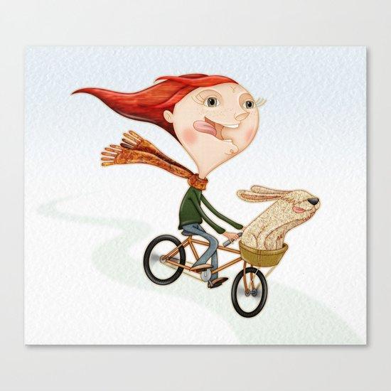 Bicicleta Canvas Print