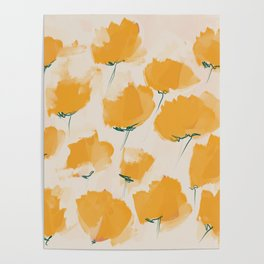The Yellow Flowers Poster
