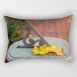 Sun Clock Rectangular Pillow