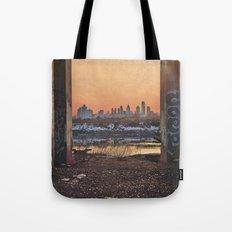 Framed Philly Skyline Tote Bag
