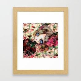Creature in Bloom Framed Art Print
