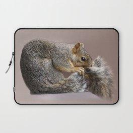 Shy squirrel Laptop Sleeve