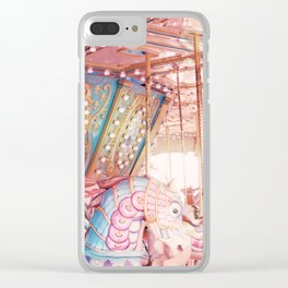 Carousel 1 Clear iPhone Case