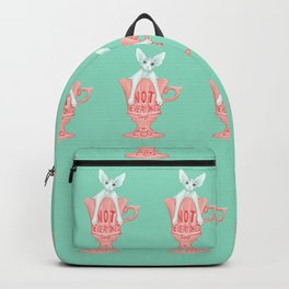 Not Everyone's Cup Of Tea - Sphynx Cat - Part 3 Backpack