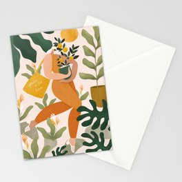 Plastic is for losers Stationery Cards