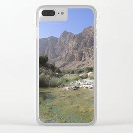 Wadi Tiwi, Oman Clear iPhone Case