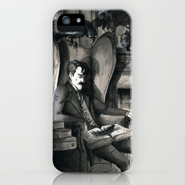 The Raven (version2) iPhone Case