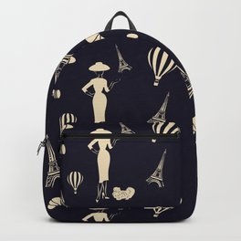 The 1950s New Look Paris Pattern Backpack