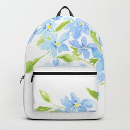 forget me nots Backpack