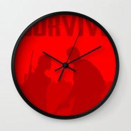Minimalist Ellie and Joel ( The last of us ) Wall Clock