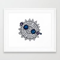 interstellar Framed Art Prints featuring Interstellar by HaleySayersArt