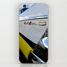 Yellow Classic American Muscle Car Belair  iPhone & iPod Skin