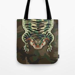 TIBETAN TIGER - CAMOUFLAGE Tote Bag