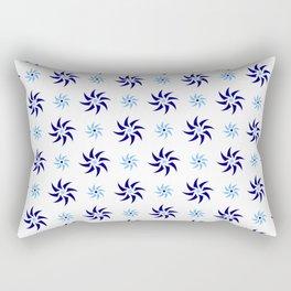 stars 108- blue Rectangular Pillow