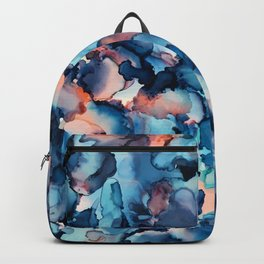 Alcohol Ink Painting 1 Backpack