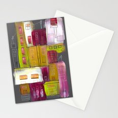 Pink Village Stationery Cards