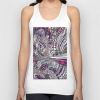 champagne Tank Tops featuring Champagne by Dan Ellwood