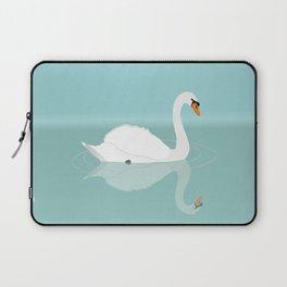 White swan Laptop Sleeve