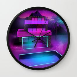 Glass Home Wall Clock