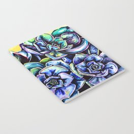 Watercolor Succulents art painting Notebook