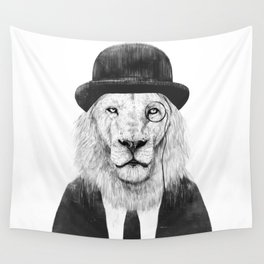 Sir lion Wall Tapestry