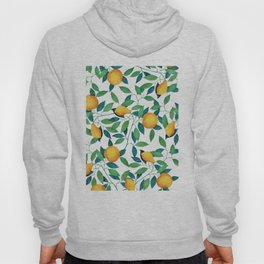 Lemon pattern II Hoody