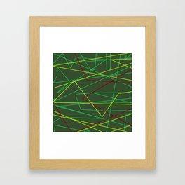 Laserbeam Framed Art Print