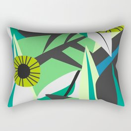Fresh tropical decor Rectangular Pillow
