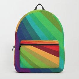 Rainbow Spectrum Rays Backpack