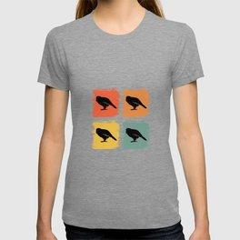 Kakapo Bird Retro Pop Art Gift Idea T-shirt