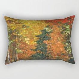 Fall Drive, New England Rectangular Pillow